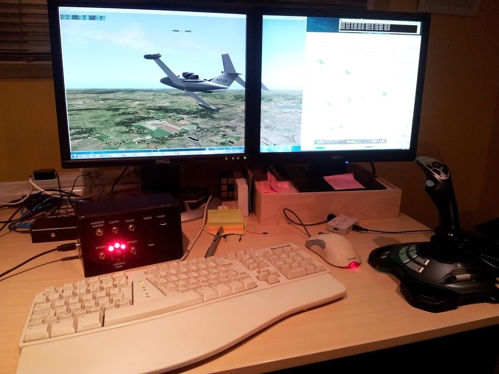 Duncan Jauncey's Blog » Low-cost XPlane Control Panel